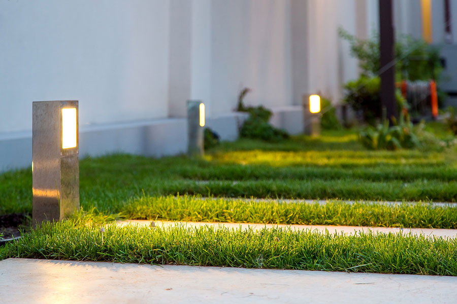 Give Your Commercial Property a Competitive Edge with Landscape Lighting
